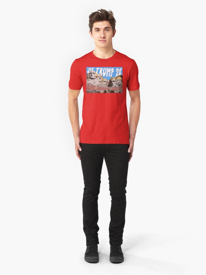 Alternate view of Trump 2020 Slim Fit T-Shirt