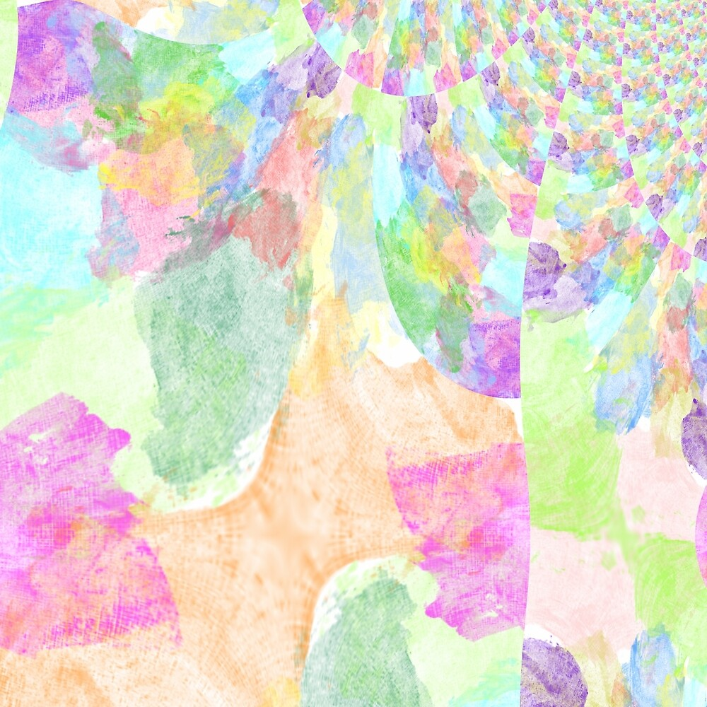 Colorful Explosion Fractal by Jessielee72