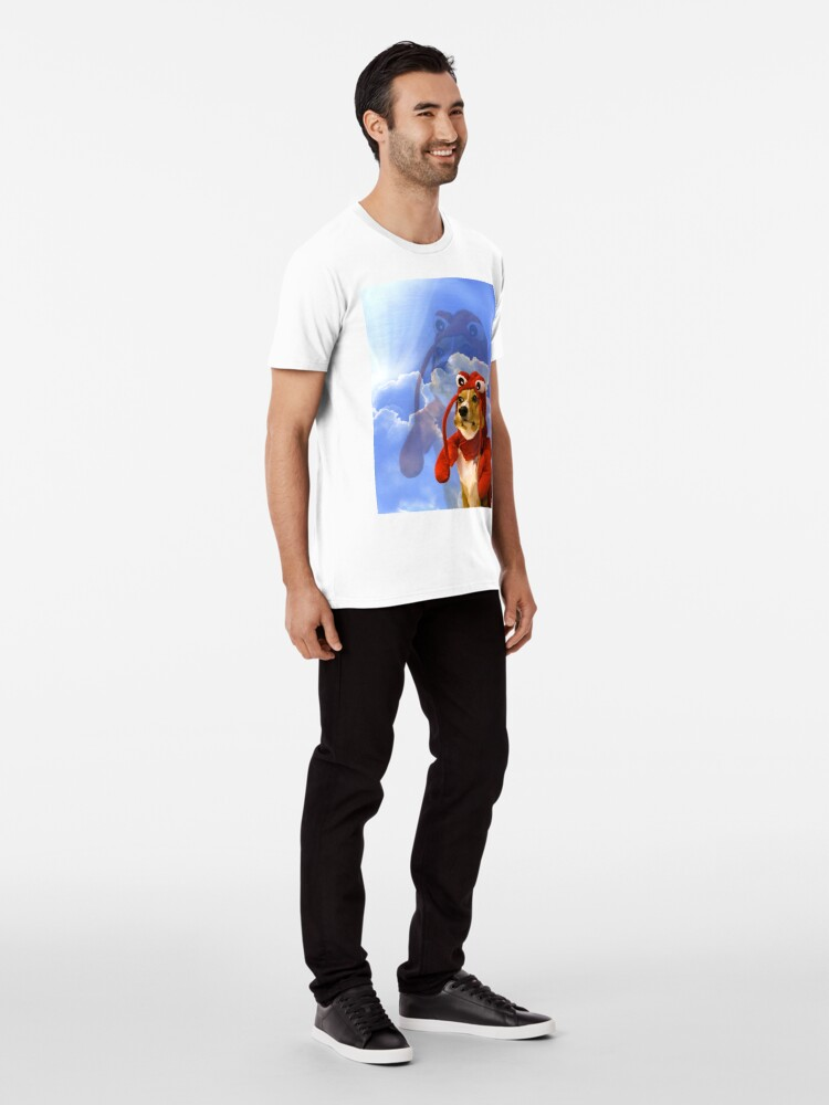 Alternate view of Lobster Corgi, Doggo #1 Premium T-Shirt