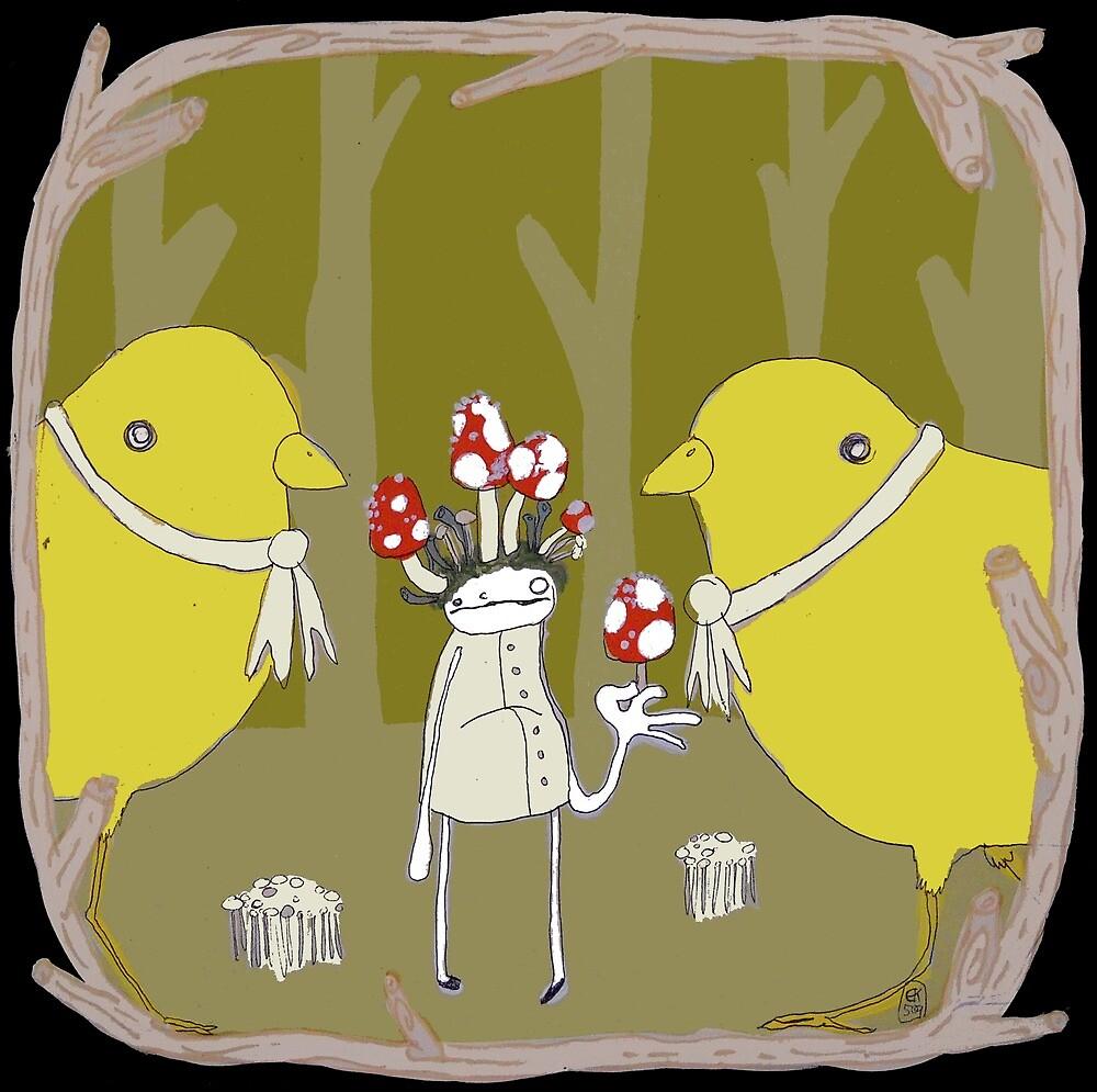 Canaries by emmaklingbeil