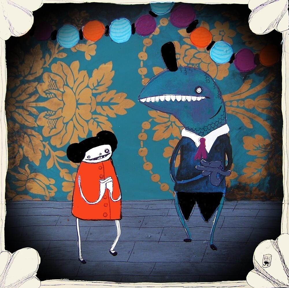 My Night with Mr. Fish by emmaklingbeil