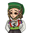 Abito tradizionale di Samugheo - Traditional Sardinian dress by Lu1nil