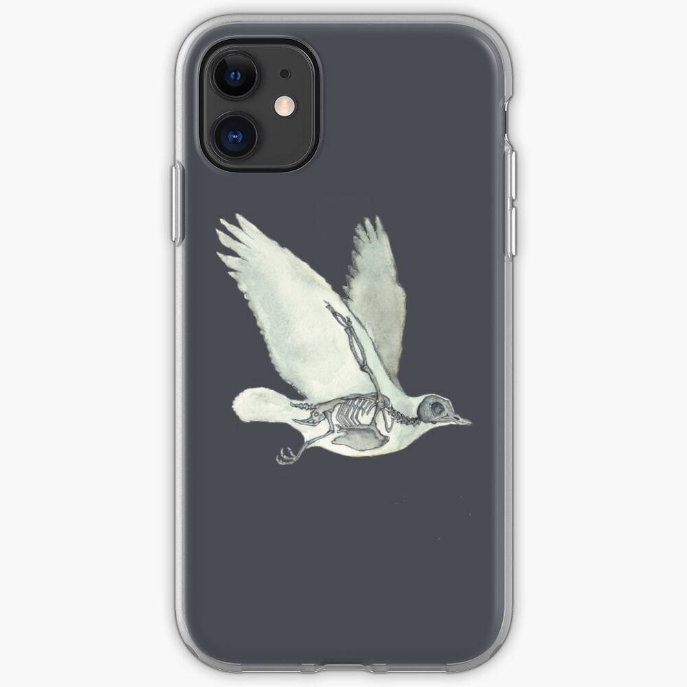 Bird Skeleton: Animal Dove Anatomy iPhone Case & Cover