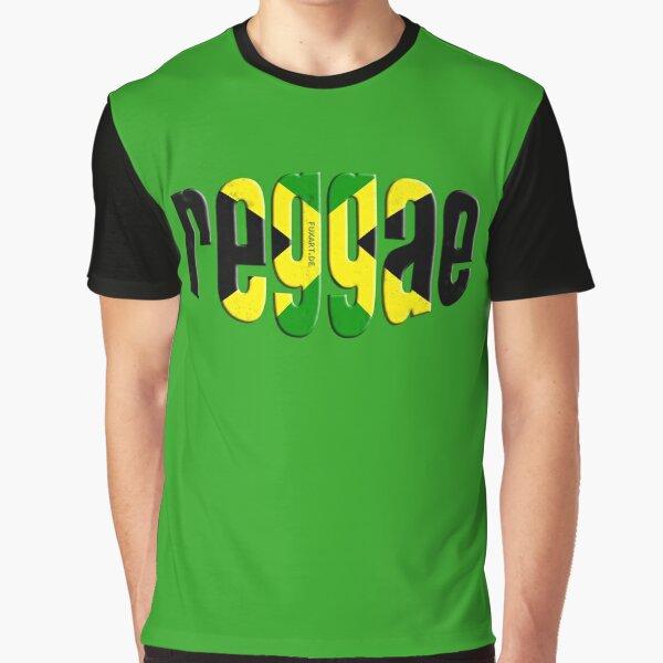 reggae Grafik T-Shirt