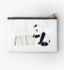 Panda and candles - happy birthday Studio Pouch