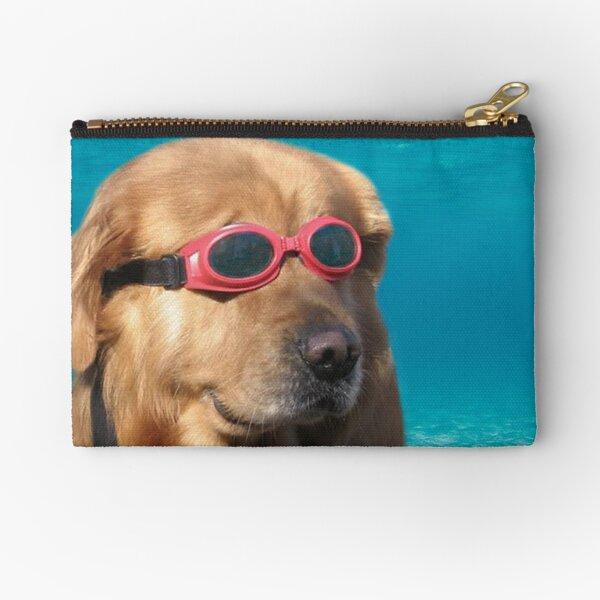 Swimmer Dog Zipper Pouch