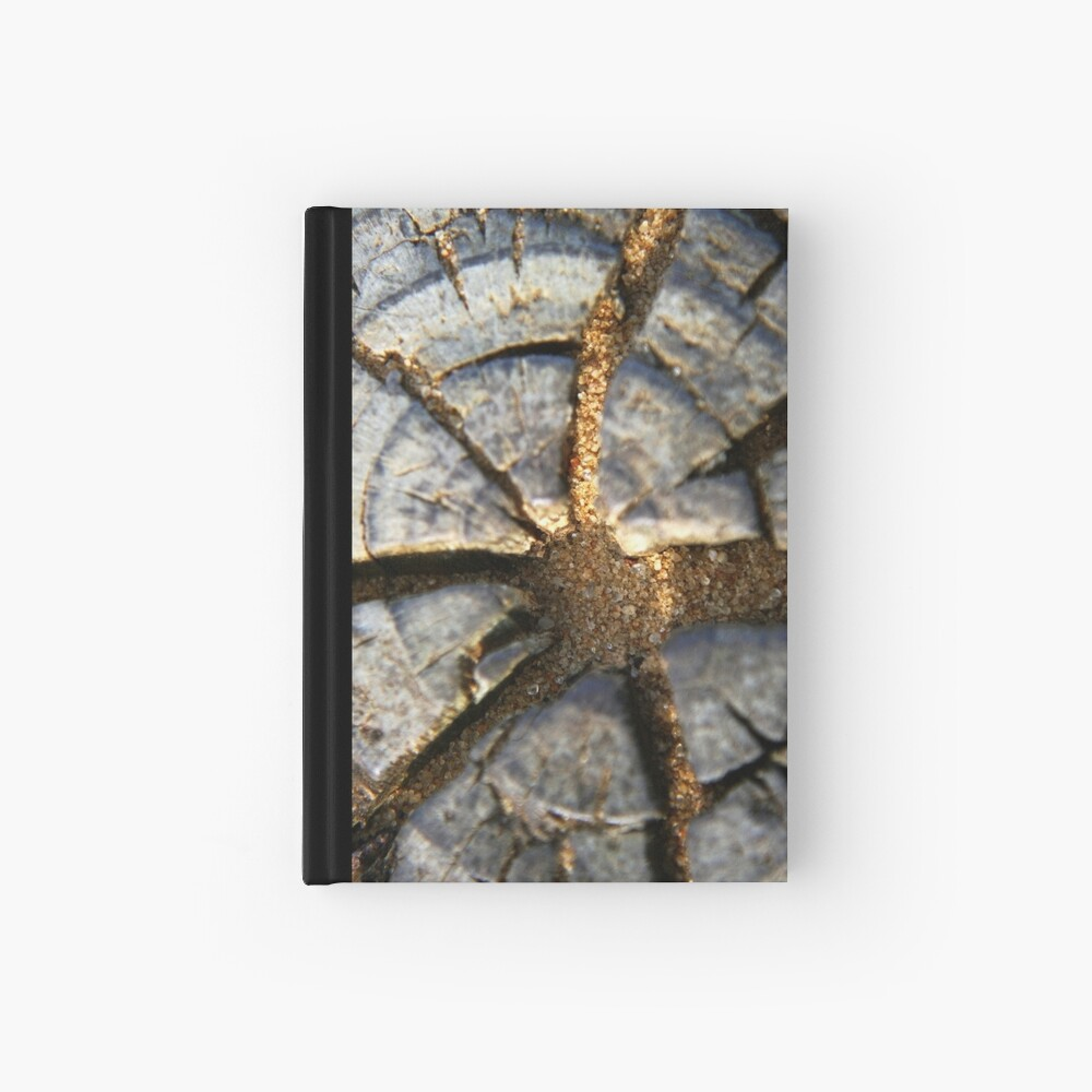 Wood Detail Hardcover Journal