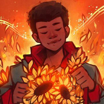 Sonnenblume von Elentori