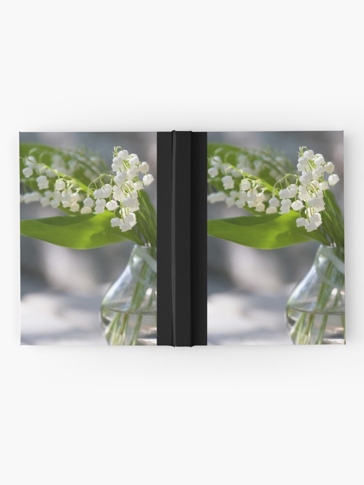 Alternate view of Lily of the valley Hardcover Journal