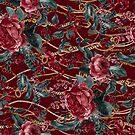 Kettengürtel und Blumenmuster von Eduardo Doreni