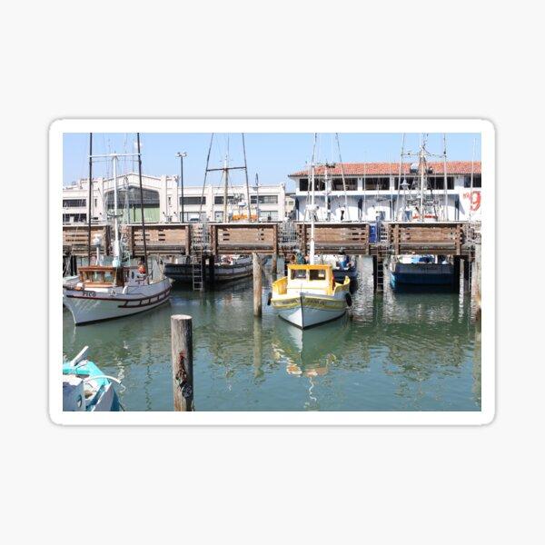 Fisherman's Wharf, San Fransisco Sticker