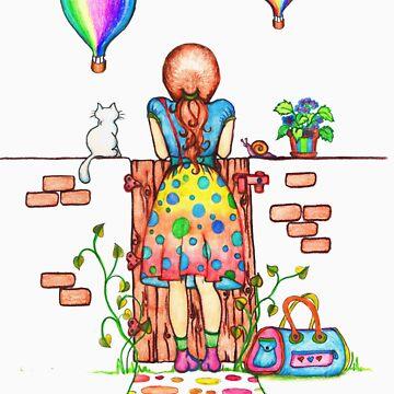 Daydreaming On The Garden Gate von micklyn