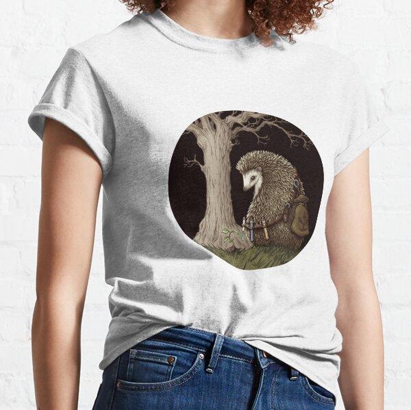 Hérisson forêt fantastique T-shirt classique