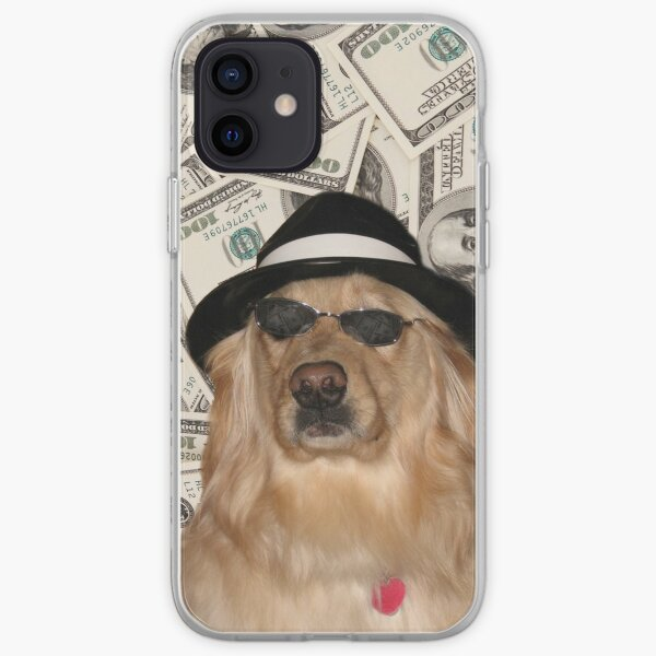 Chien riche Coque souple iPhone