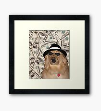 Rich Dog, Doggo # 3 Gerahmtes Wandbild