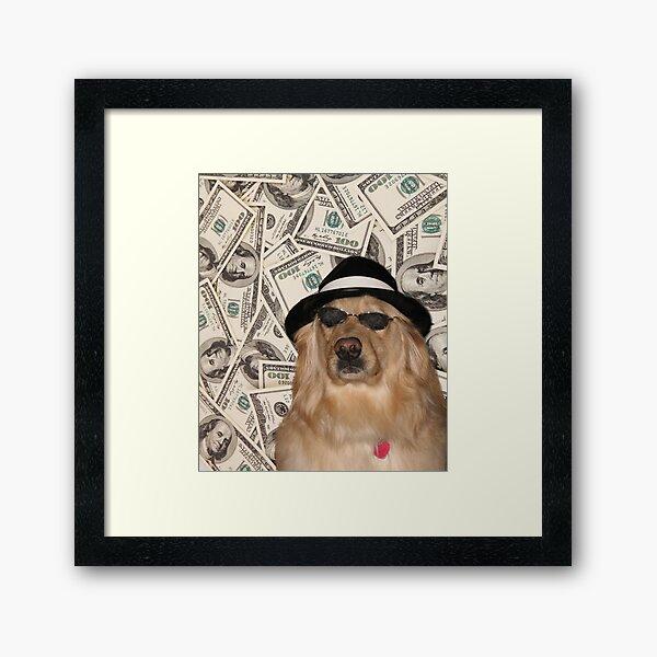 Rich Dog, Doggo #3 Framed Art Print