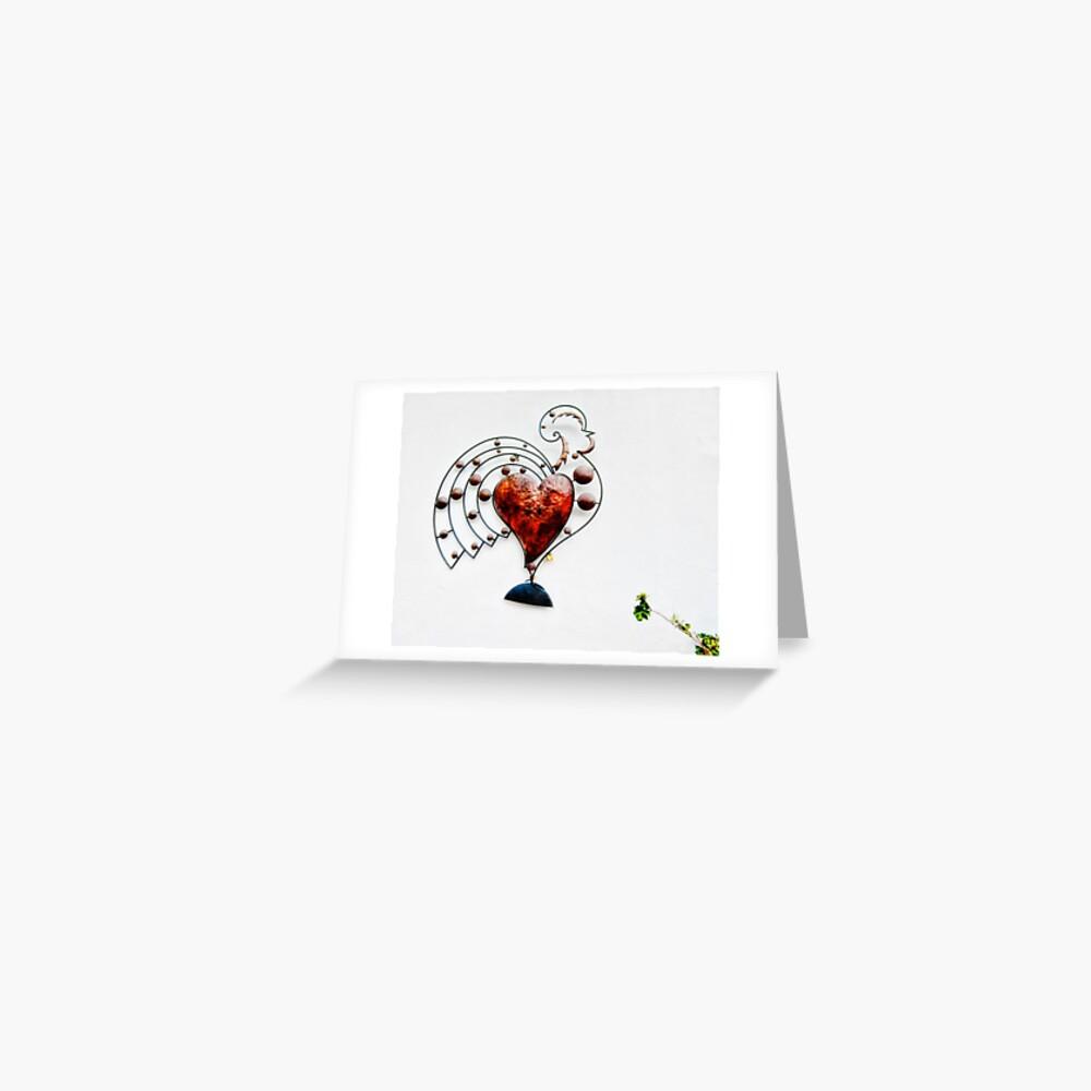 Chicken Heart Greeting Card