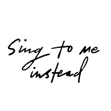 ben platt - sing to me instead  by bwayjulianna