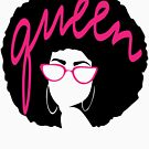 queen afro woman by rkhy