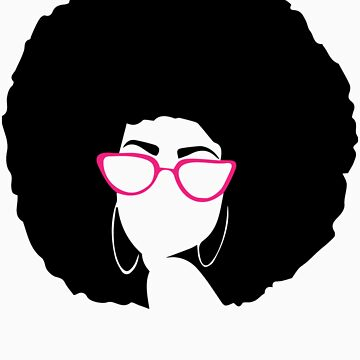 black afro woman by rkhy