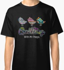 ffc3da8a9d Quilting With My Peeps Quilt Funny Classic T-Shirt