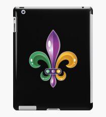 Fleur De Lis Mardi Gras Karneval Lilie  iPad-Hülle & Skin