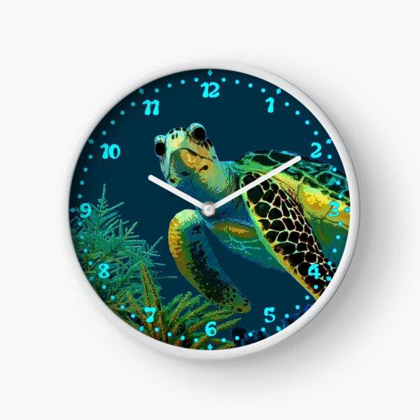 Green Sea Turtle Clock