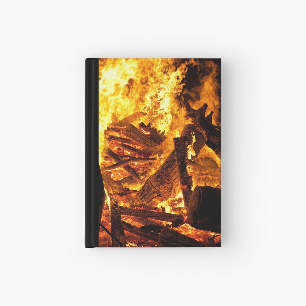 Feel the heat Hardcover Journal