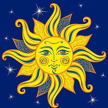 Far Out Hippie Sun by machmigo