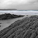 Jagged coast by StephenRB