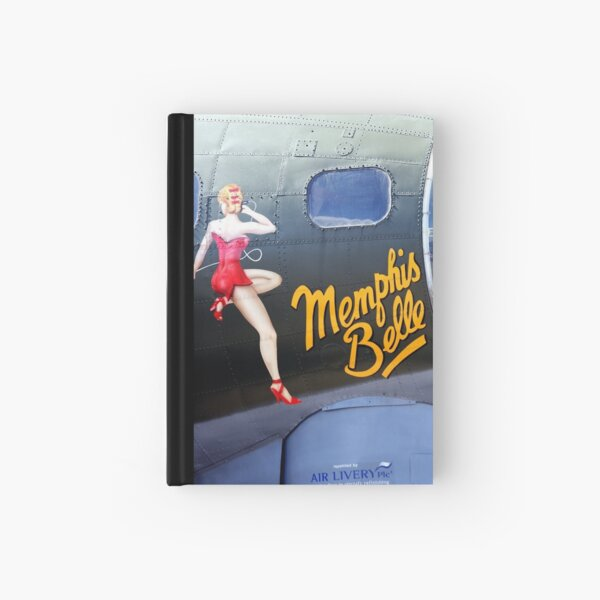Memphis Belle Nose Art Hardcover Journal