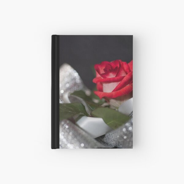 A Single Rose. Hardcover Journal