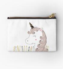 Sweet unicorn - Happy Birthday Studio Pouch