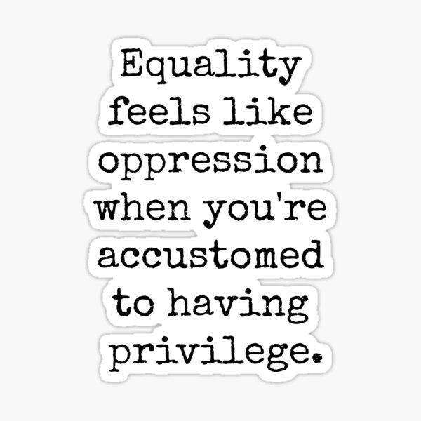 Gleichstellungsprivileg Sticker