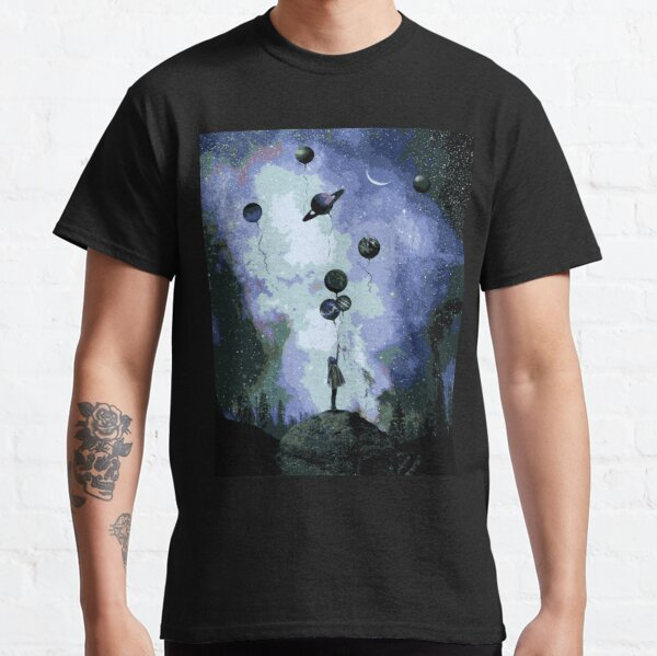 El universo en globos Camiseta clásica