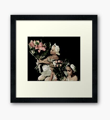 Big Bouquet for a Young Swan Framed Print