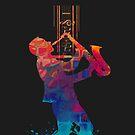 I love Music - Saxophone by leandrojsj