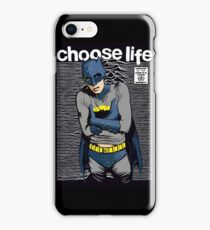 Choose Life iPhone Case/Skin
