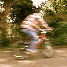 Cyclist by Richard Pitman
