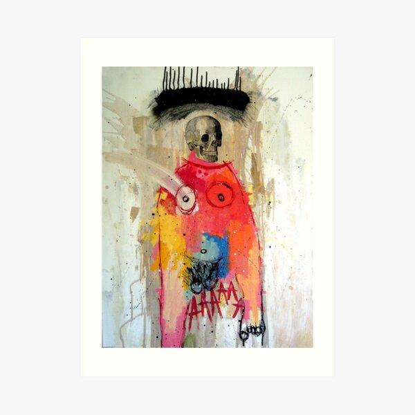 EL DESEO DE PERDER LA MEMORIA (THE DESIRE TO LOSE MEMORY) Art Print