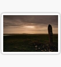 Berneray: Clach Mhor Standing Stone Sticker
