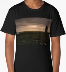Berneray: Clach Mhor Standing Stone Long T-Shirt