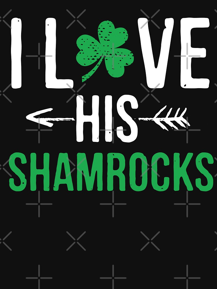 I Love His Shamrocks - St Patrick's Day Couples Gifts by EcoKeeps
