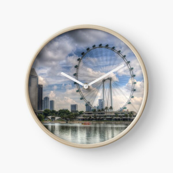 Singapore Flyer Wheel Clock