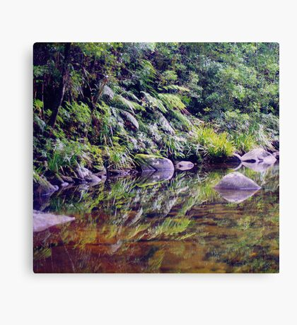 River Reflections, Coombadjha Creek Canvas Print