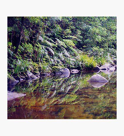 River Reflections, Coombadjha Creek Photographic Print