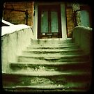 Stairs to No.50 by Richard Pitman