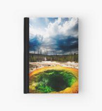 Hot sulphur pool Yellowstone Hardcover Journal