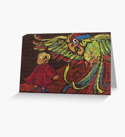 The Magic Parrot Greeting Card