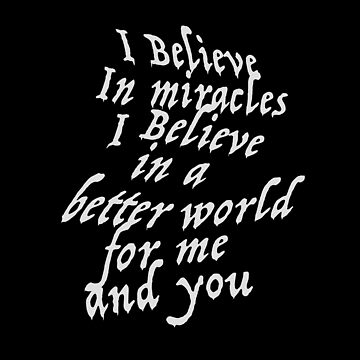 I believe in miracles by hypnotzd